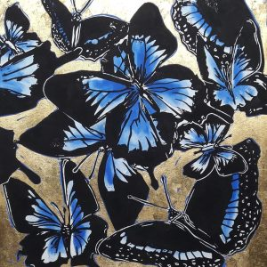 Blue Morpheus Shelley Dyer-Gibbins