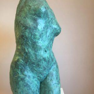 Sea green torso Susie Hartley