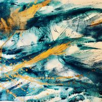 Aqua light Sarah-Cate Blake