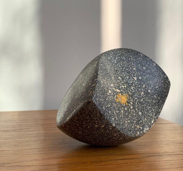 BIG SUR Black Kintsugi concrete Kate Henderson