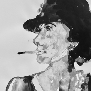 Smoking lady sophie bartlett