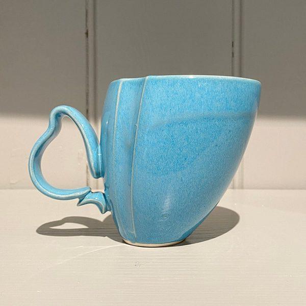 Dancer Mug Ceramic Stoneware Turquoise