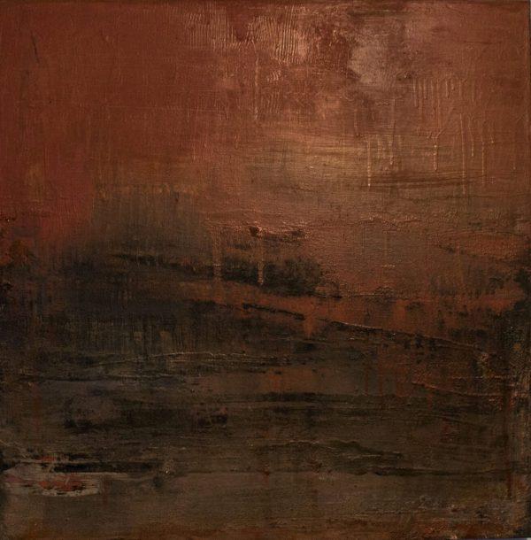 Strata- Mixed Media on Canvas, 60x60 Julie Allan