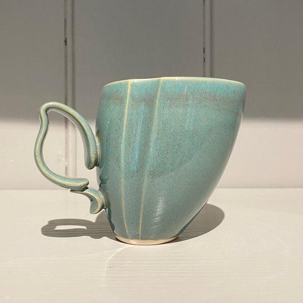 Dancer Mug Ceramic Stoneware Soft Green