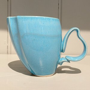 Dancer Mug turquoise 1 Jaro Hrustalenko