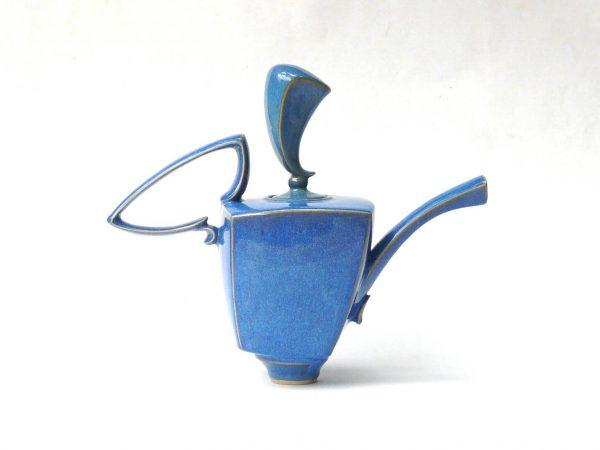 The Musketeer Teapot Sky Blue by Jaroslav Hrustalenko
