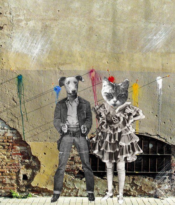 Bonnie & Clyde by Liz Pounsett