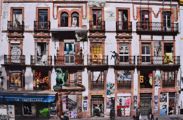 Rue de la Encarnacion by Liz Pounsett