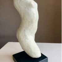 Lily Ceramic Torso - White by Susie Hartley