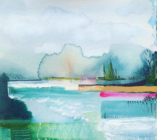 Regents Park Beyond by Angela Murray