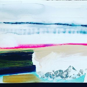 Surf Crashing by Angela Murray