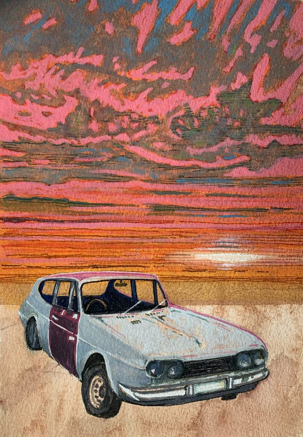 Sunset on the Scimitar by Keith Busby