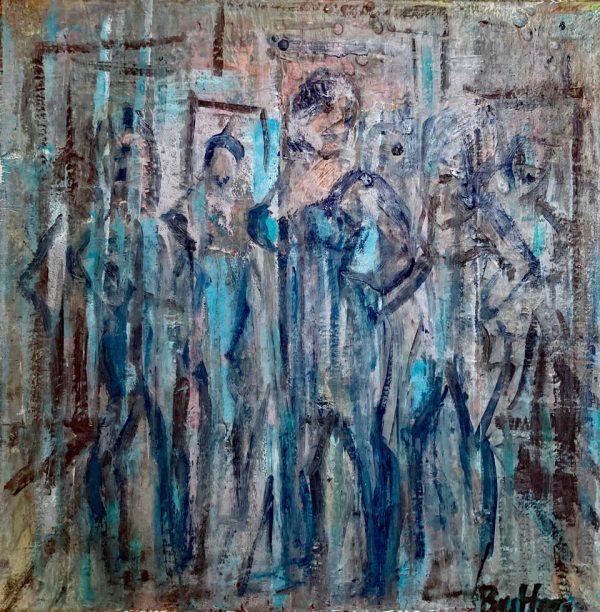 Mirroring II by Corinna Button