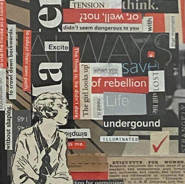 of rebellion by Jo Hudson